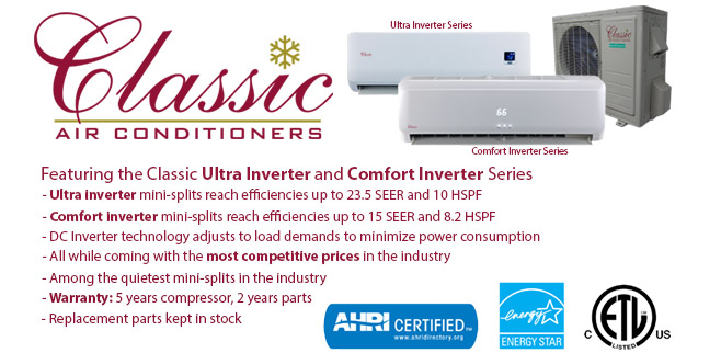 Classic Comfort and Ultra Inverter