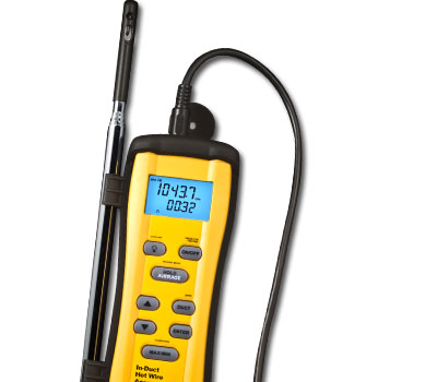 Fieldpiece In Duct Hot-wire Anemometer - Refricenter | HVACR ...